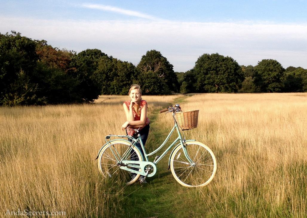 Me and my pretty new bike